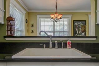 Cottage Sink, Stained Glass Lights