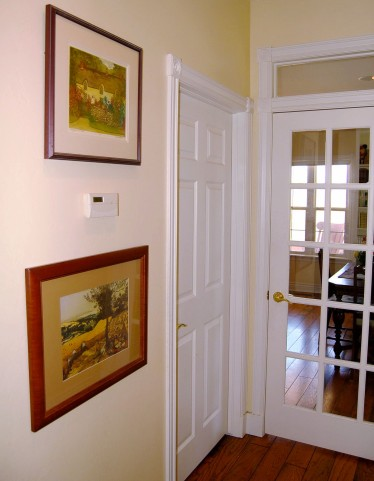 Craft Closet and Library Doors