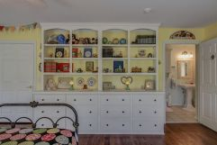 CCustom Storage in #2 Bedroom: Nursery and Bath