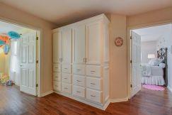 Upstairs Linen Storage