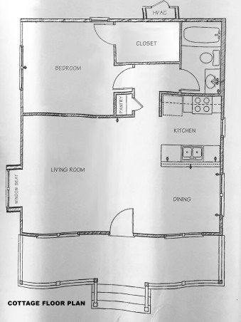Guest Cottage Floor Plan