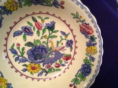 Forslund Plantation Colonial china pattern