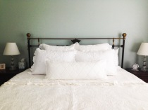 White-on-White Bed