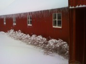 Icicles on the Barn
